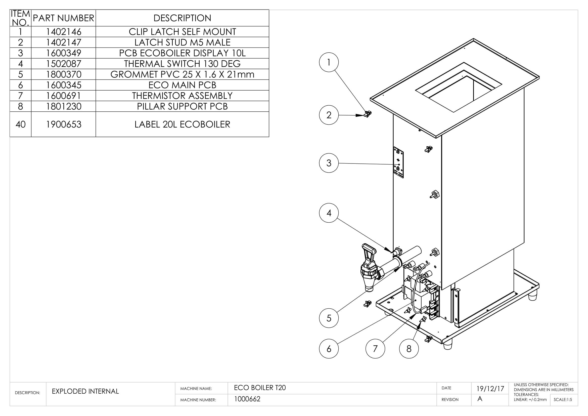 Ecoboiler T20 - Marco Beverage Systems Ltd.