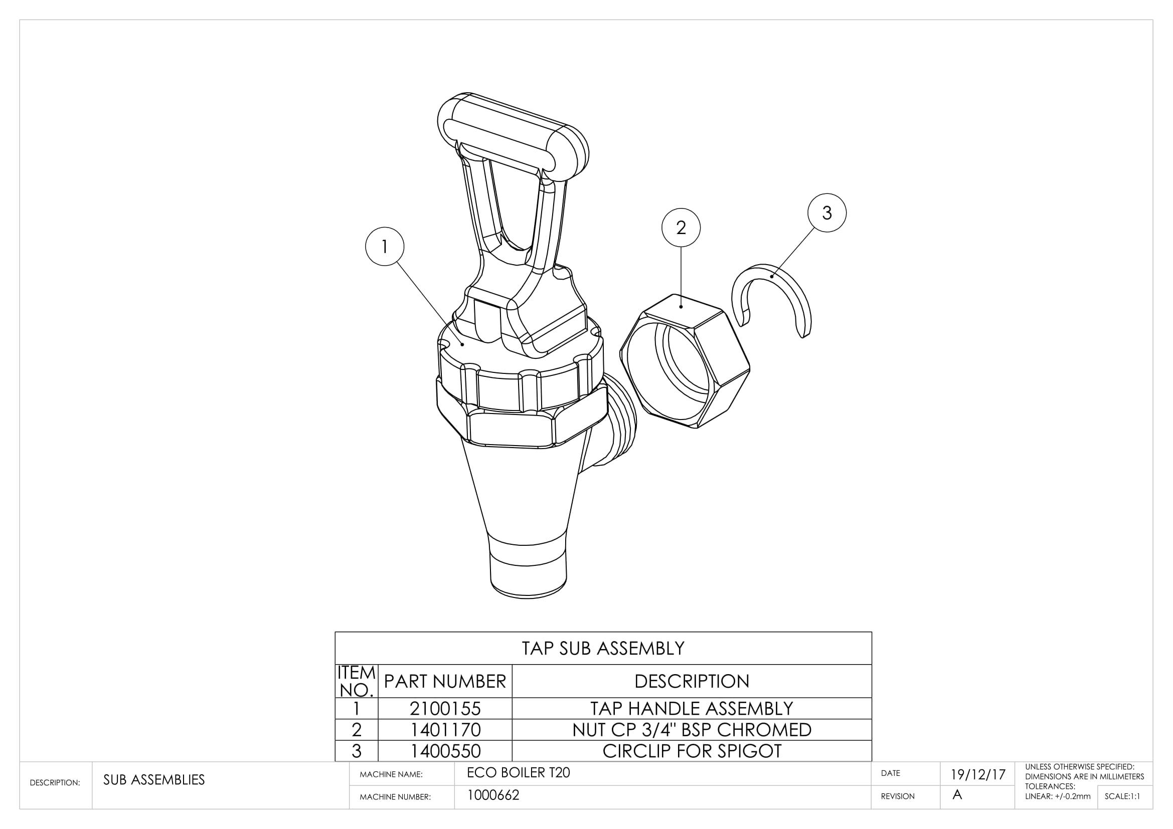 Ecoboiler T20 Marco Beverage Systems Ltd