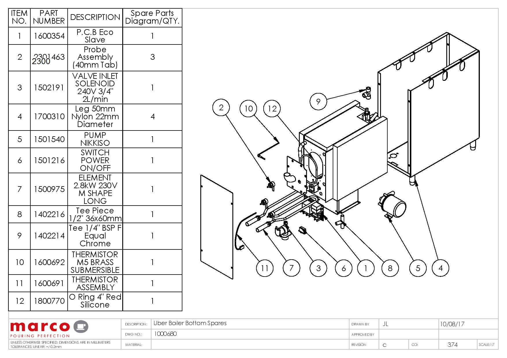boiler water feeder wiring diagram