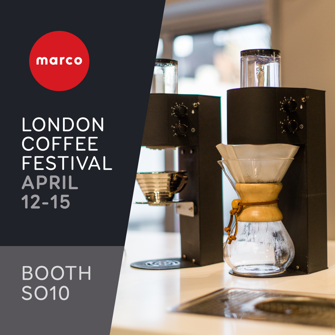 Marco at London Coffee Festival